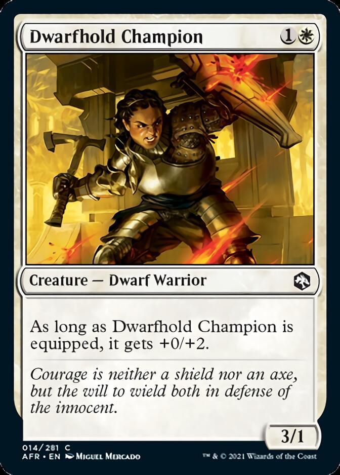 Dwarfhold Champion [AFR]