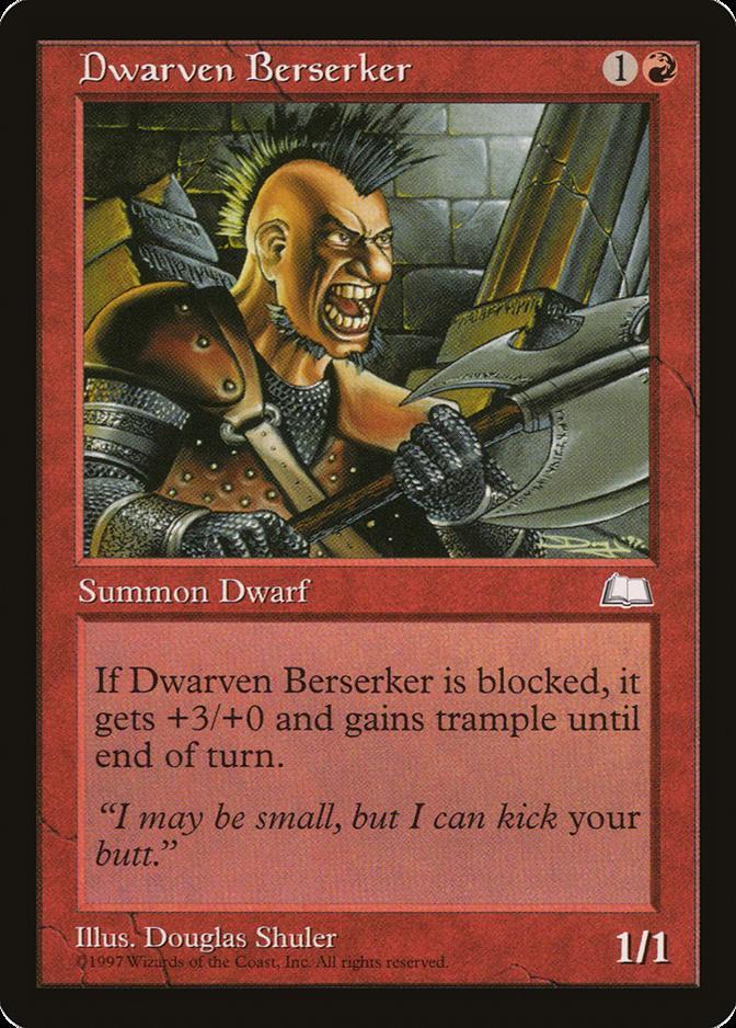 Dwarven Berserker [WL]