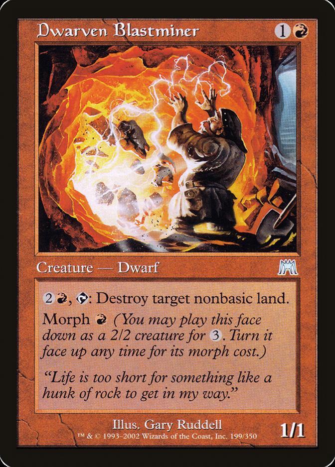 Dwarven Blastminer [ONS]