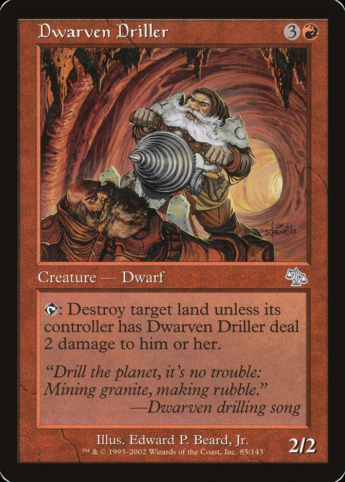 Dwarven Driller [JUD]