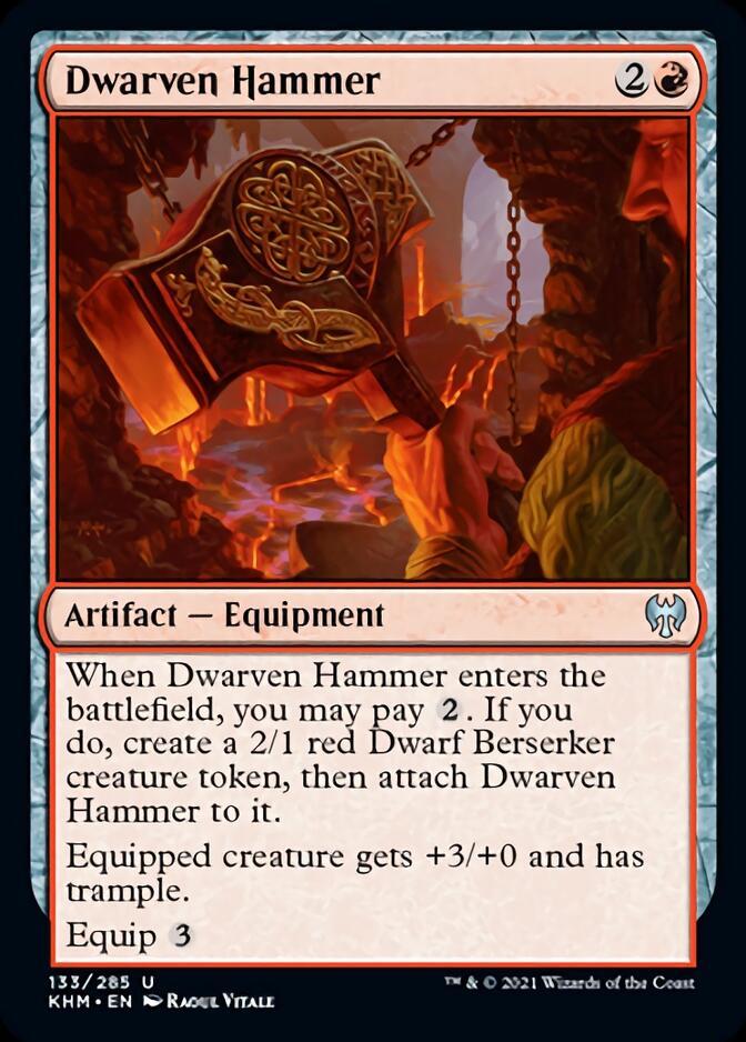Dwarven Hammer [KHM]