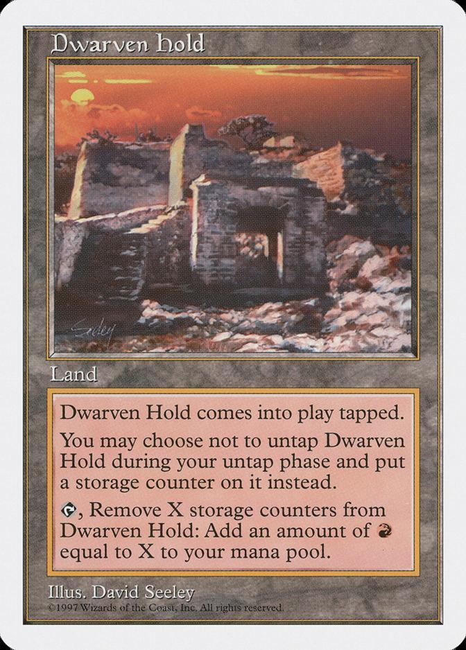 Dwarven Hold [5ED]