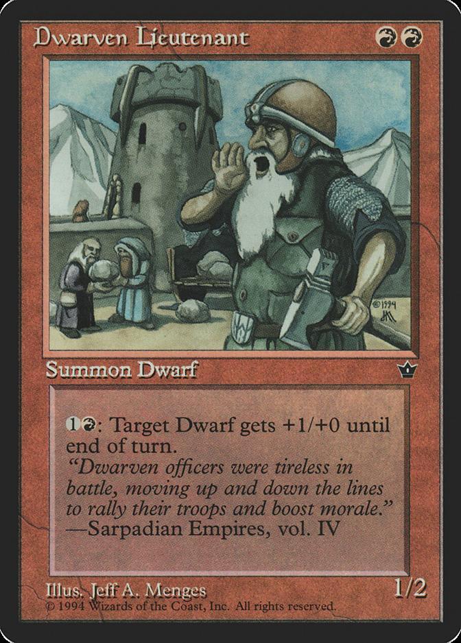 Dwarven Lieutenant [FEM]