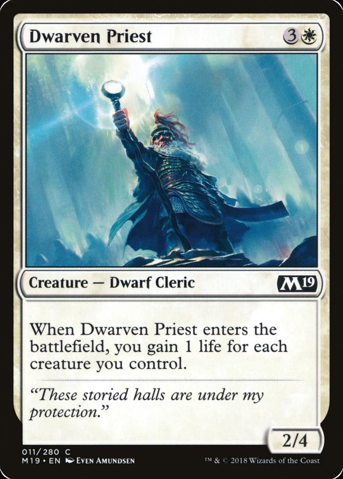Dwarven Priest [M19]