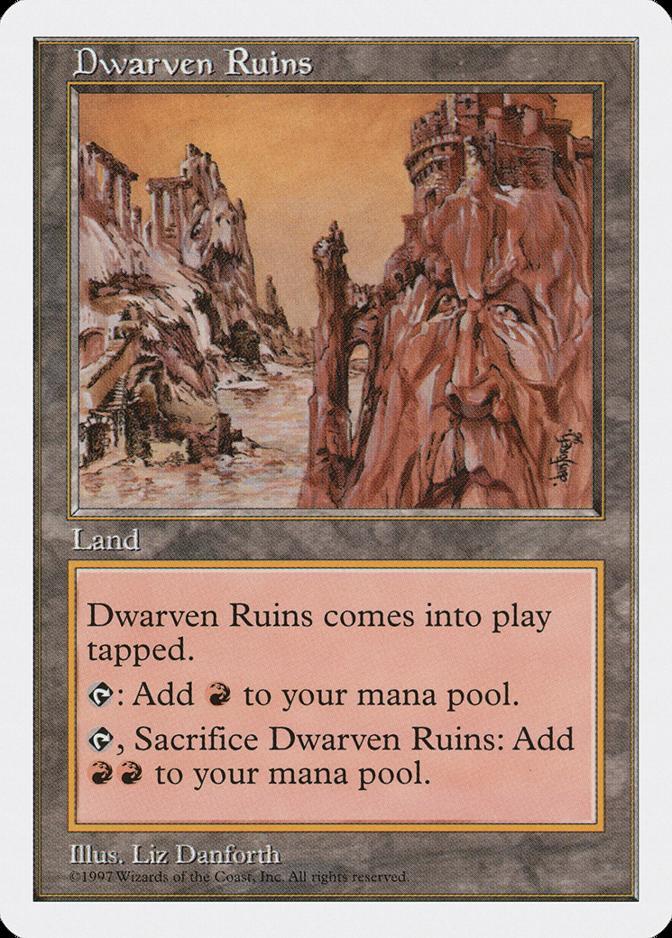Dwarven Ruins [5ED]