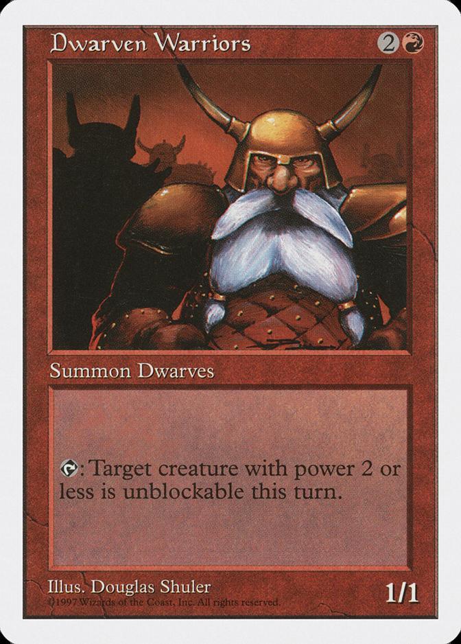 Dwarven Warriors [5ED]