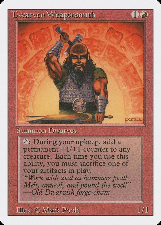 Dwarven Weaponsmith [3ED]