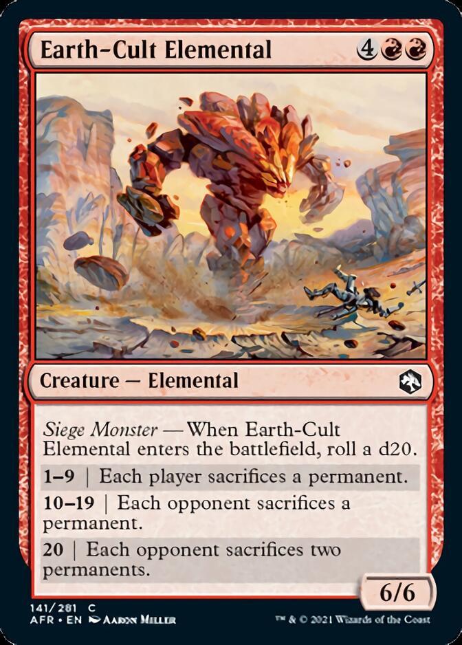 Earth-Cult Elemental [AFR]