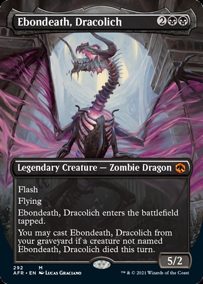 Ebondeath, Dracolich <borderless> [AFR]