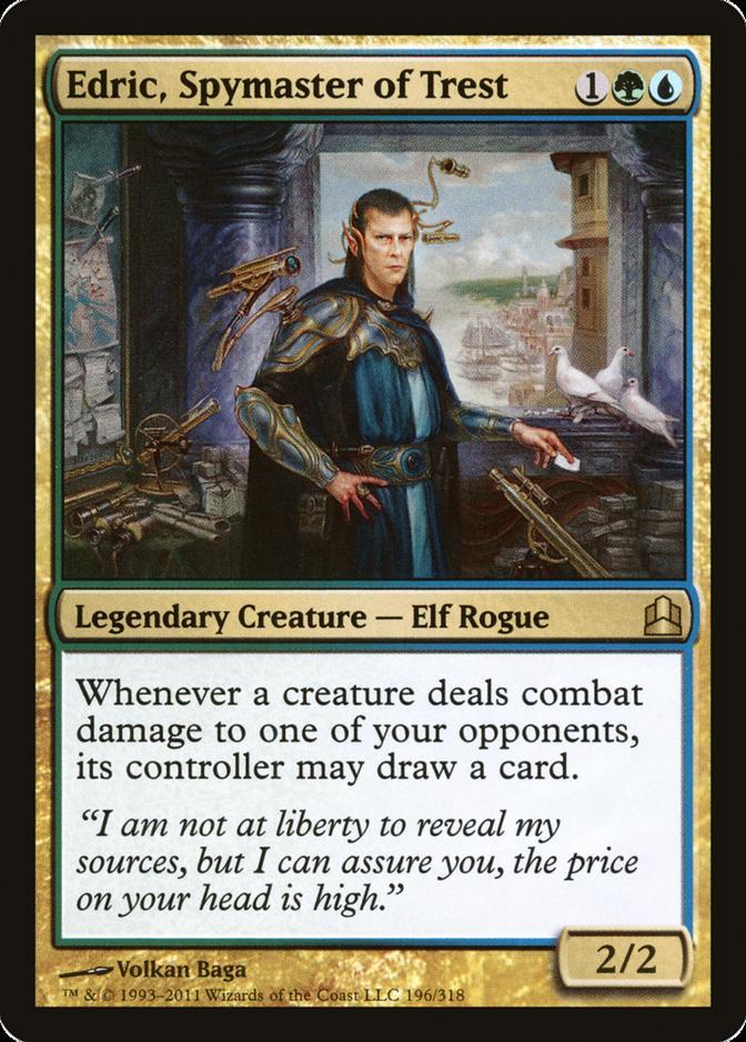Edric, Spymaster of Trest [CMD]