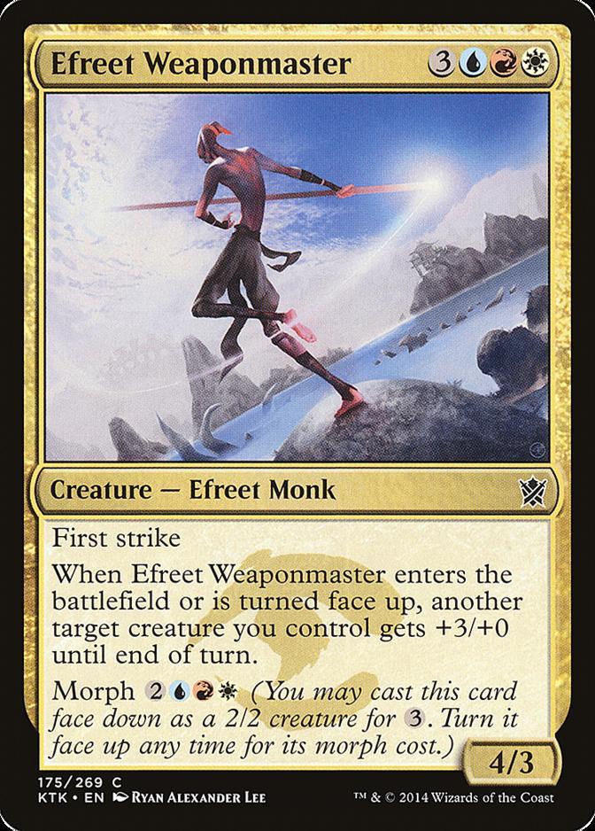 Efreet Weaponmaster [KTK]