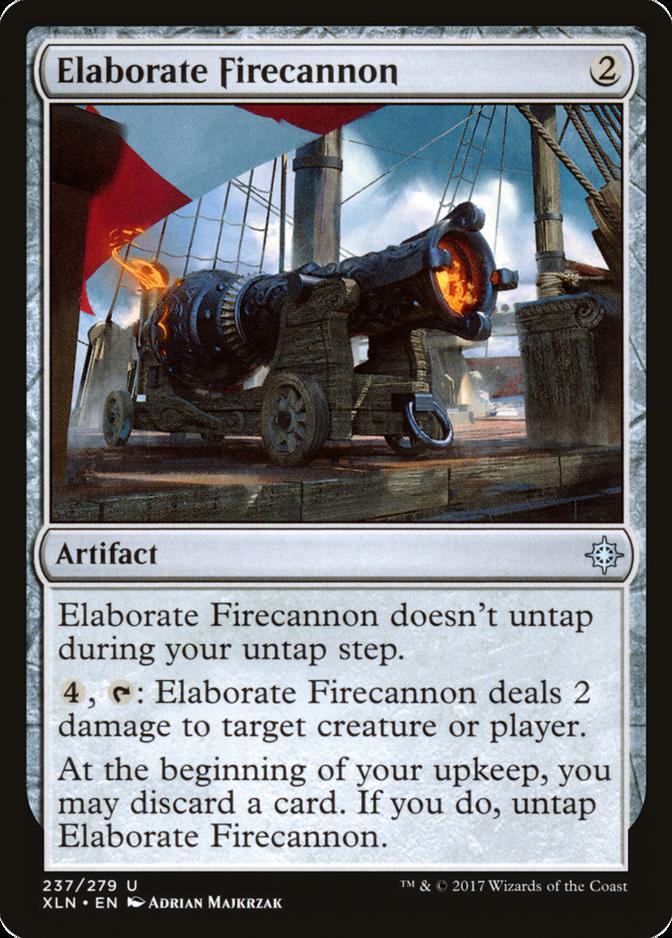 Elaborate Firecannon [XLN]