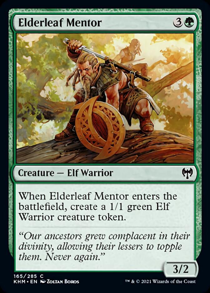Elderleaf Mentor [KHM]