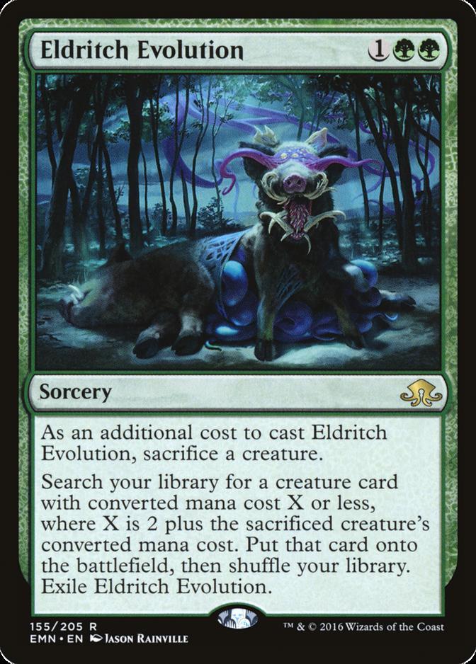 Eldritch Evolution [EMN] (F)