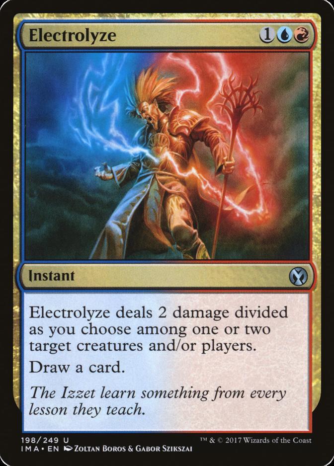 Electrolyze [IMA]