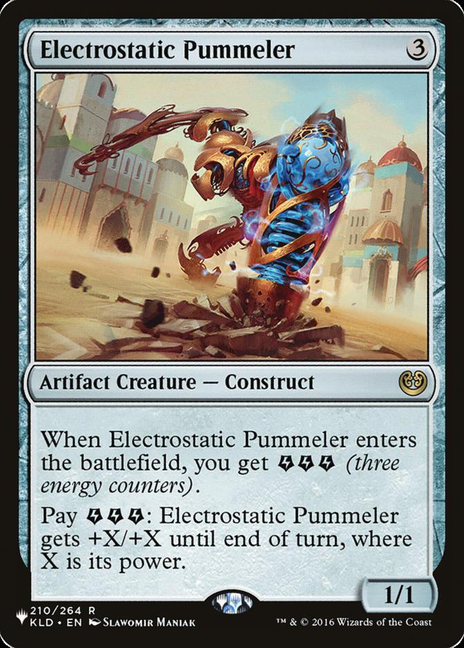 Electrostatic Pummeler [PLIST]