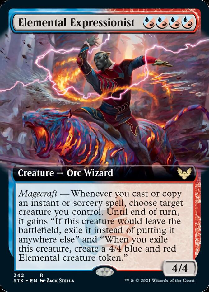 Elemental Expressionist <extended> [STX]