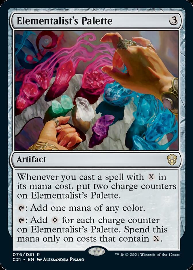 Elementalist's Palette [C21]