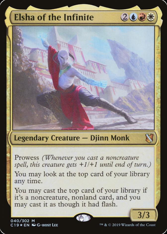 Elsha of the Infinite [C19] (F)