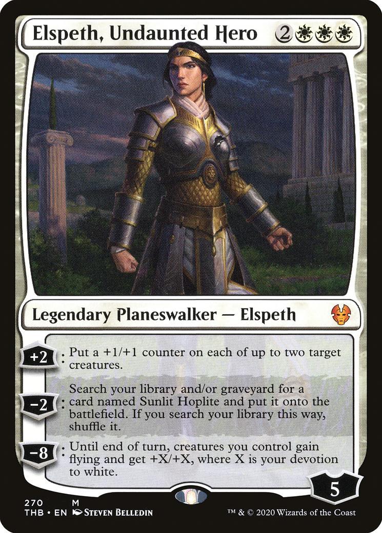Elspeth, Undaunted Hero [THB]