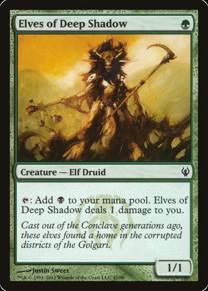 Elves of Deep Shadow [DDJ]