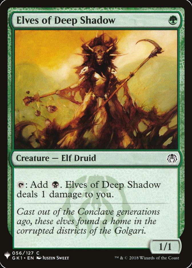 Elves of Deep Shadow [MB1]