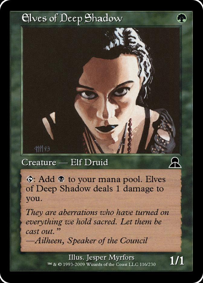 Elves of Deep Shadow [ME3]