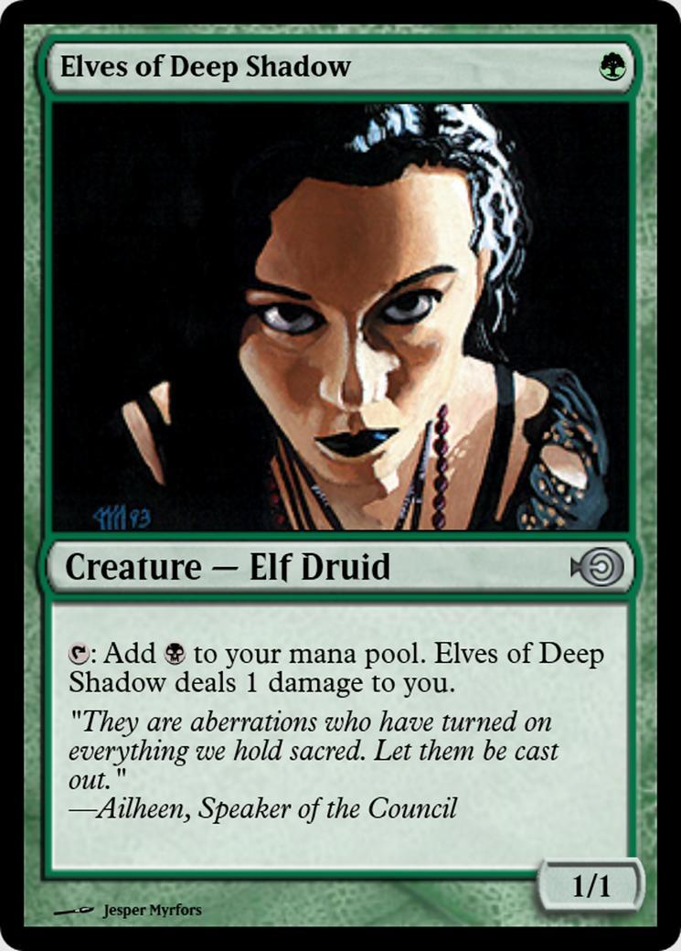 Elves of Deep Shadow [PRM]