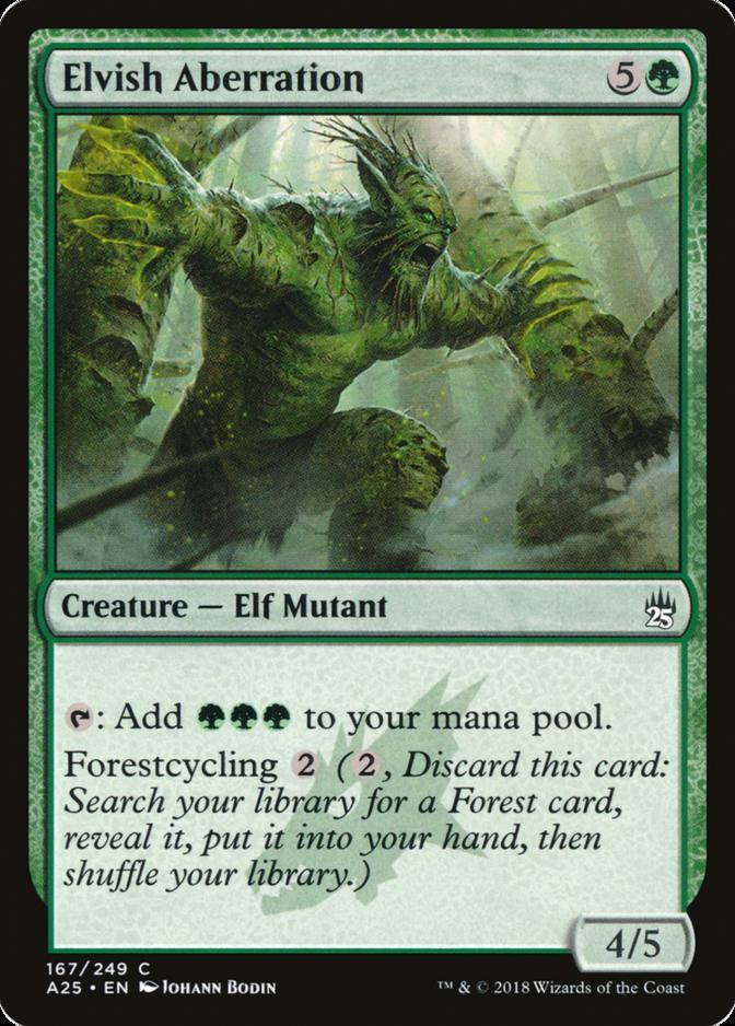 Elvish Aberration [A25]