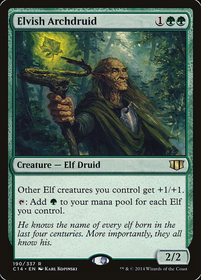 Elvish Archdruid [C14]