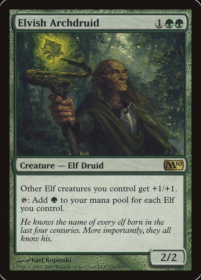 Elvish Archdruid [M10]
