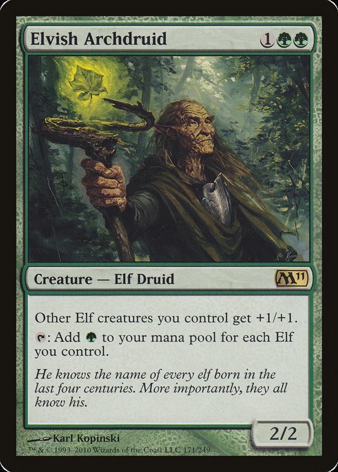 Elvish Archdruid [M11]