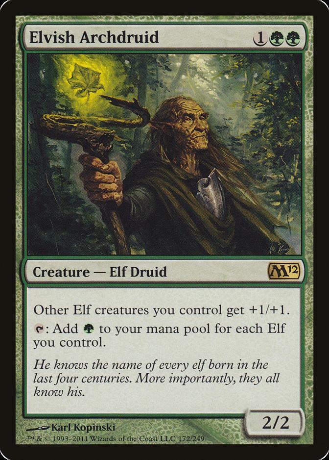 Elvish Archdruid [M12] (F)