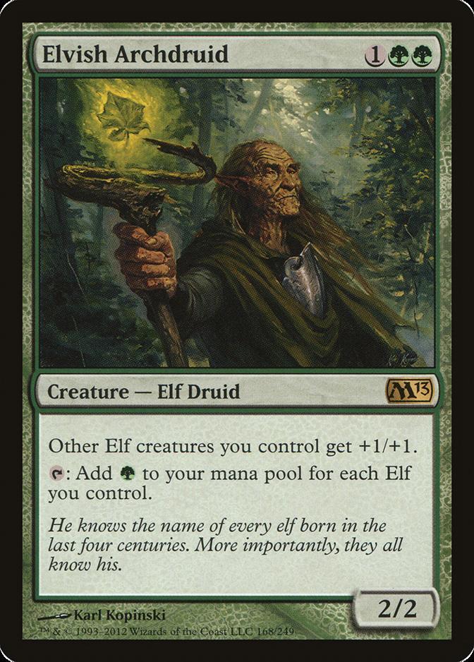 Elvish Archdruid [M13]