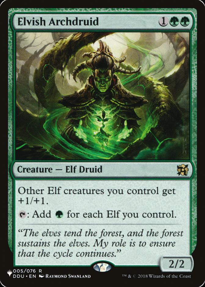 Elvish Archdruid [PLIST]