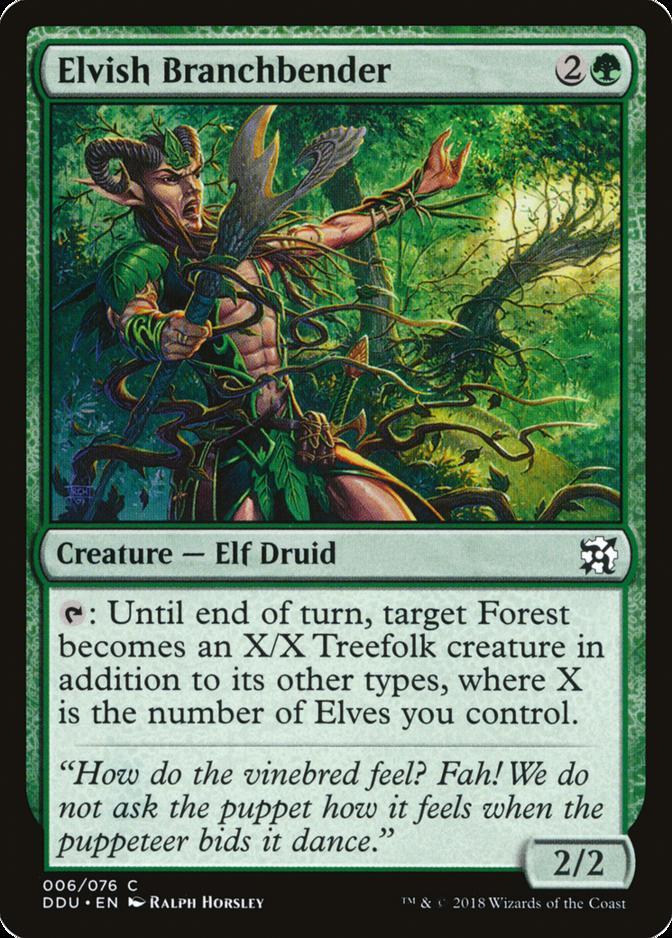 Elvish Branchbender [DDU]