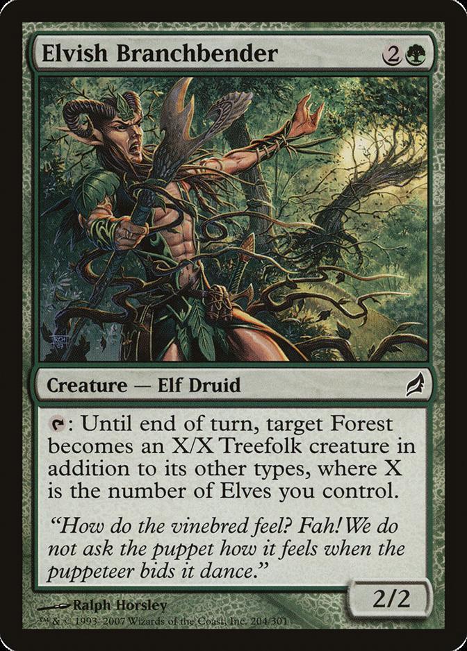 Elvish Branchbender [LRW]