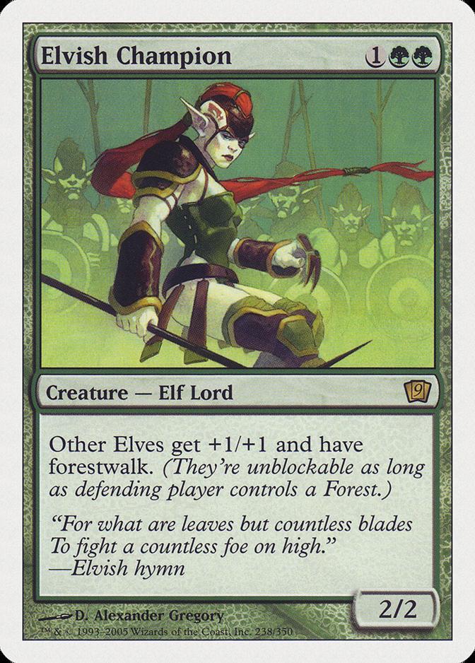 Elvish Champion [9ED]