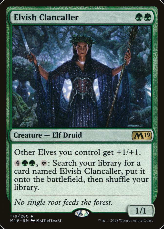 Elvish Clancaller [M19]