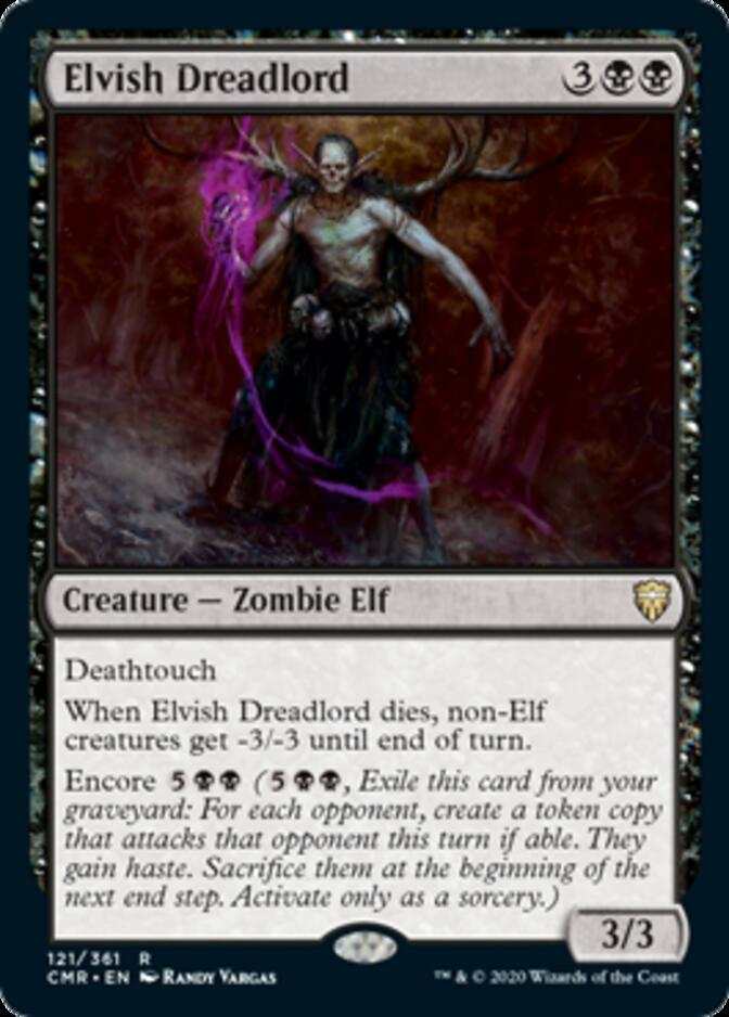 Elvish Dreadlord [CMR]