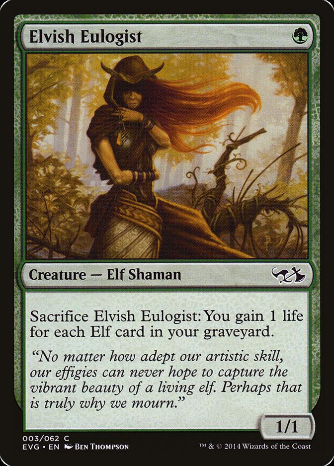 Elvish Eulogist [EVG]