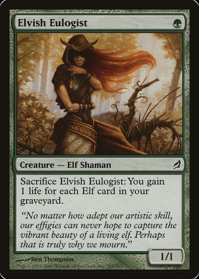 Elvish Eulogist [LRW]