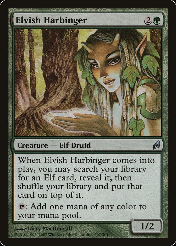 Elvish Harbinger [LRW]