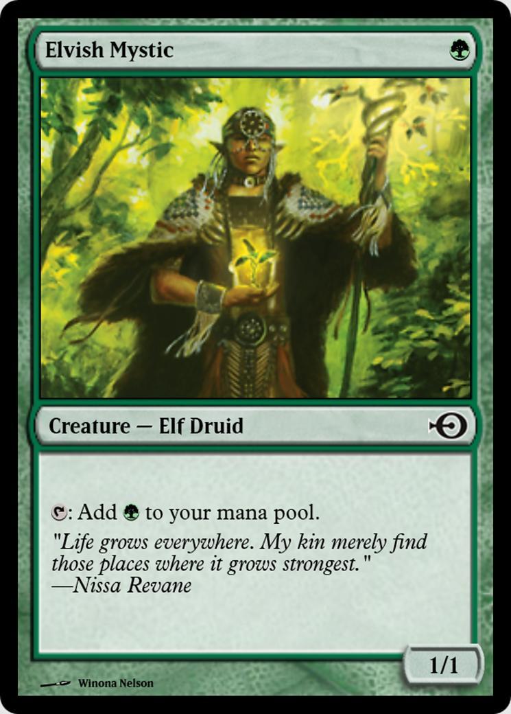 Elvish Mystic [PRM] (F)