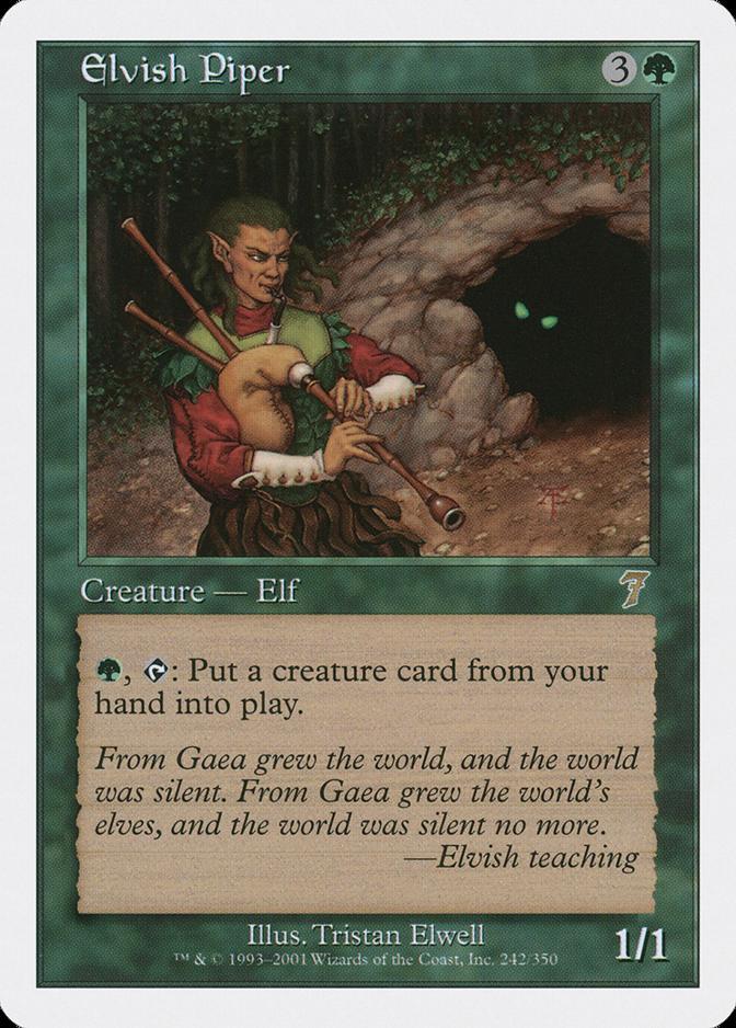 Elvish Piper [7E]