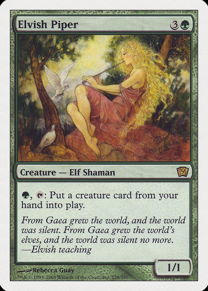 Elvish Piper [9ED]