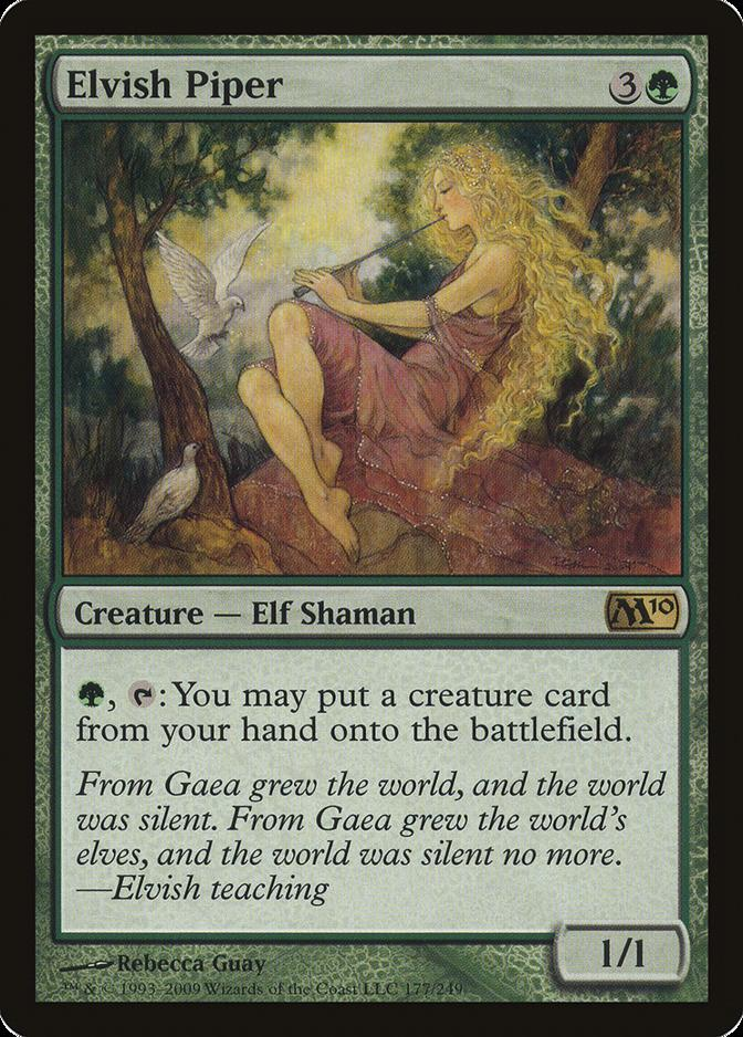 Elvish Piper [M10]