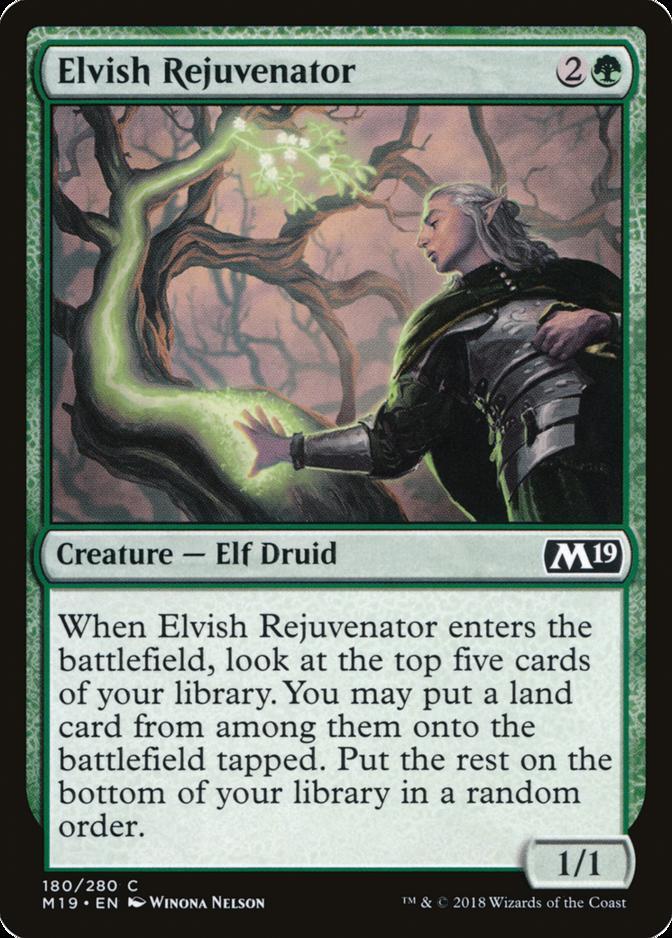 Elvish Rejuvenator [M19]