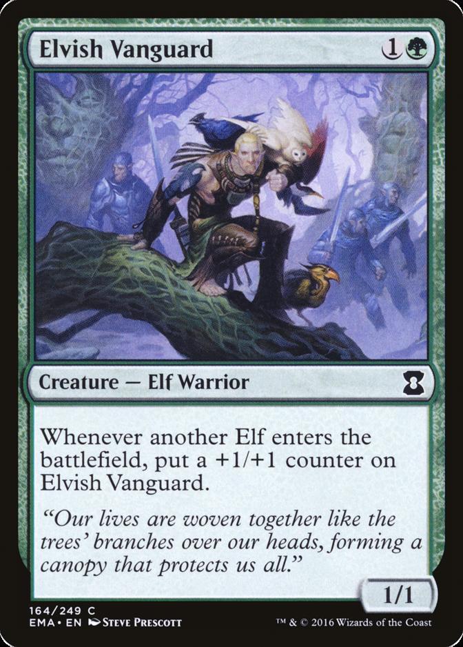 Elvish Vanguard [EMA] (F)