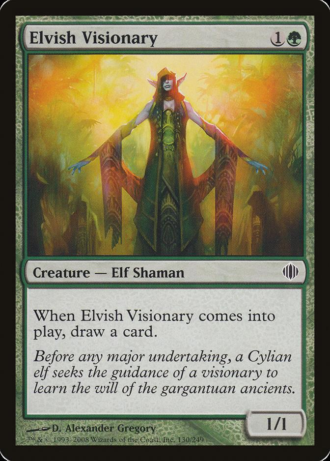 Elvish Visionary [ALA] (F)